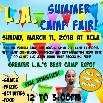 L.A. Camp Fair at UCLA promotional picuture