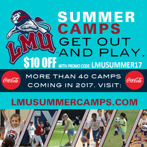 LMS Sports Camps image including a $10 off discount coupon to save money on the program this year.