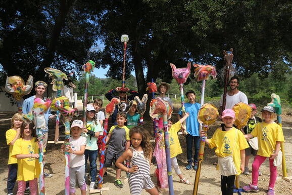 Camp Wildcraft is one of the best art and nature summer day camps for kids in L.A. Meet them at the L.A. Camp Fair Sunday, April 4 in Calabasas.