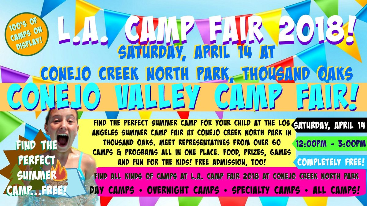 Conejo Valley Camp Fair Advertisement