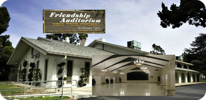 Picture of the Los Angeles Friendship Auditorium, home of the Los Angeles Los Feliz Summer Camp Fair