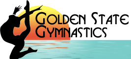Golden State Gymnastics summer camp logo.