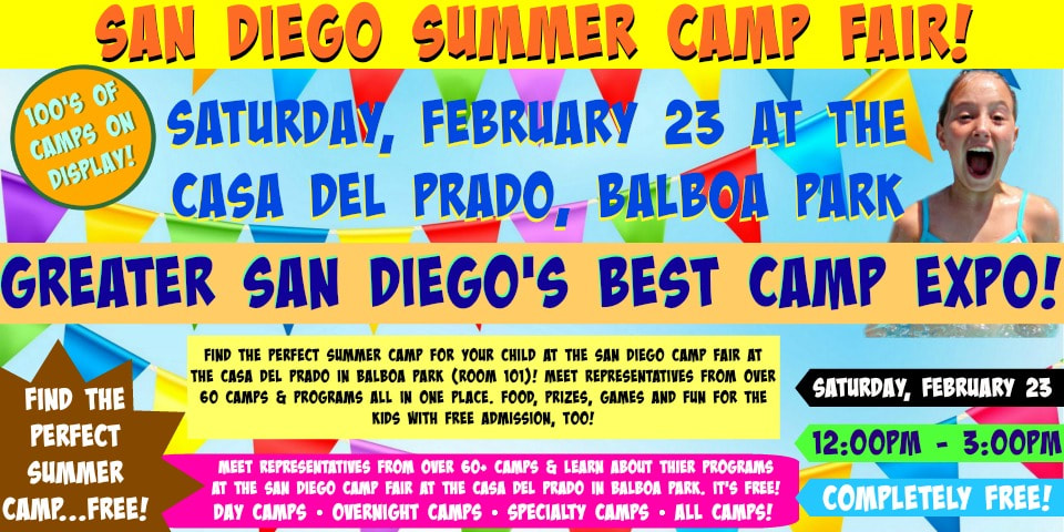 San Diego Camp Fair banner